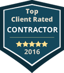 2016 Top Client Rated Contractor